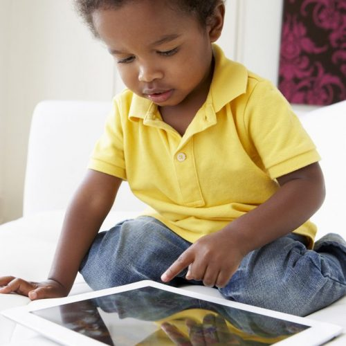 small black boy on tablet smaller2